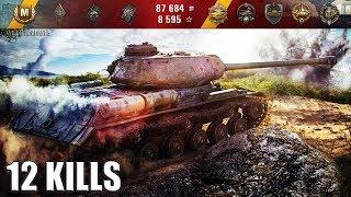 ИС ТАНК ПРОРЫВА только в ТОПе) 🌟 7 уровень 🌟 12 фрагов, карта: Карелия World of Tanks лучший бой