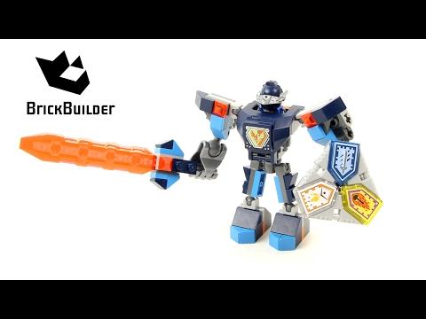 Vidéo LEGO Nexo Knights 70362 : La super armure de Clay