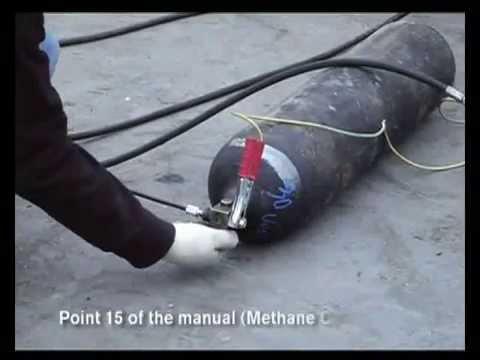 Attrezzatura per lo svuotamento delle bombole GPL e Metano - Methan Cycle