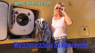 Waschmaschine im Wohnmobil daewoo dwd-cv801pc