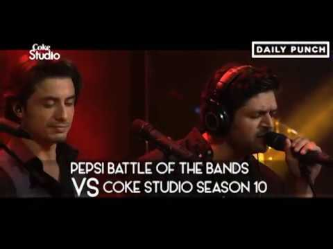 Coke Studio Vs Pepsi Battle of the Bands – Let's see what people has to say!
