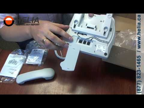 Unboxing the Nortel T7208 Office Desk Phone