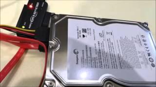ST3500620ASseagateシーゲイトHDD、Barracuda7200.11のデータ復旧