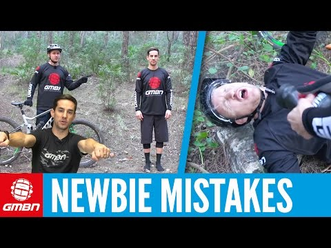 Top Mountain Bike Newbie Mistakes