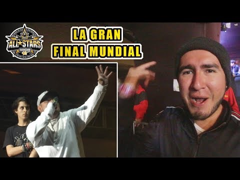 LA GRAN FINAL MUNDIAL (ACZINO & CHUTY VS JAZE & STUART) GOD LEVEL ALL STARS - Video Reacción