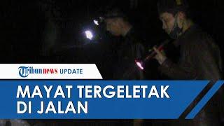 2 Mayat Pria Ditemukan Tewas di Jalan Kabupaten Lumajang, Kondisinya Telentang & Leher Kena Sabitan