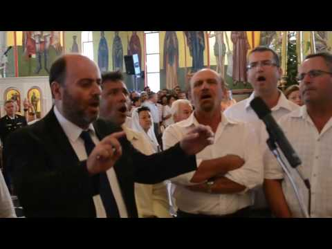 Το τροπάριο του Αγίου Γερασίμου από την Κεφαλληνιακή Χορωδία, στα Ομαλά [video]