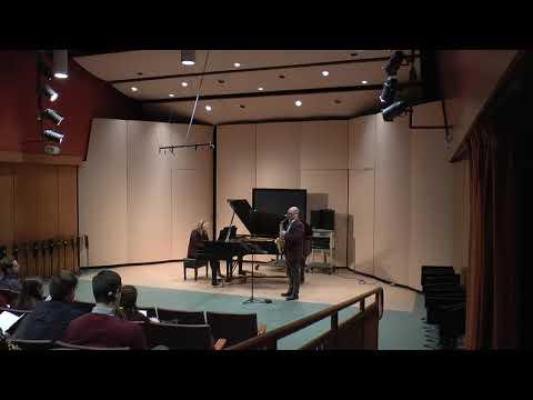 Sonata by Paul Creston, Mvt 1
