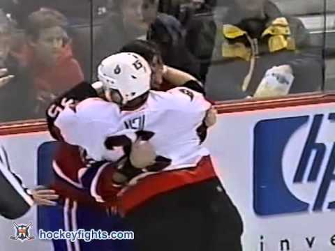 Chris Neil vs. Randy McKay