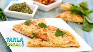 Pizza Margherita by Tarla Dalal