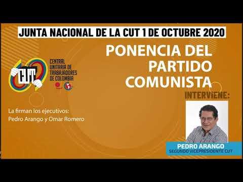 Ponencia Partido Comunista en la Junta Nacional CUT || 1 de octubre de 2020