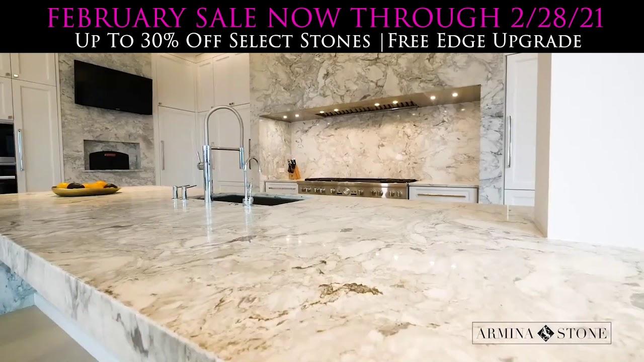 Armina Stone February Sale Going On Now Through 2/28/21