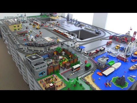 OLD Video! Updates on my channel! JANGBRiCKS LEGO City update & walkthrough Aug. 13, 2014