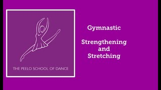 Gymnastic strengthening and stretching for pupils