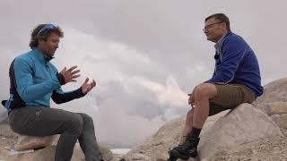 Gipfeltalk Peter Schlickenrieder auf der Zugspitze