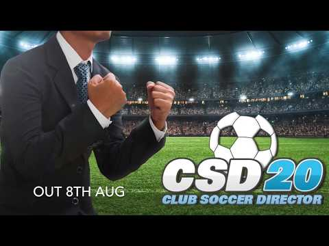 Club Soccer Director 2020 video