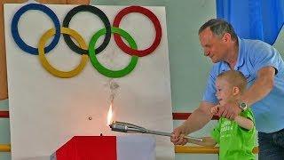 preview picture of video 'Olimpiada Przedszkolada - Czerwonak 2014'