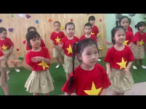Trường Mầm non Đinh Tiên Hoàng- Việt Nam ơi cùng đánh bay Covid