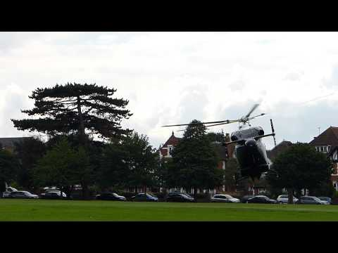 Video of Air Ambulance in Folkestone July 20 2012 - http://twitter.com/Kent_999s