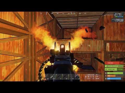 Rust New Macro -19 08 2017- /AK/MP5/LR300 - игровое видео