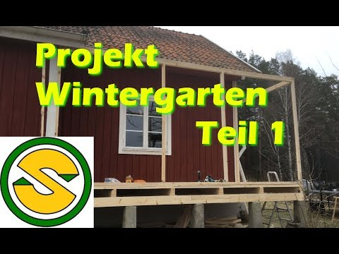 wintergarten selber bauen anleitung - Rabatte im Internet finden