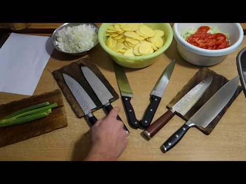 Cheap DAMASCUS KITCHEN KNIVES from china (aliexpress) – REVIEW