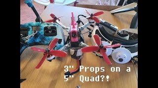 "#BROWN - Backyard FPV 5"" quad using 3"" props"