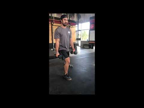 Hockey Referee Training - Split Squat - YouTube
