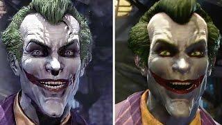 Batman Return to Arkham Remastered Comparison Side-By-Side