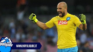 Pepe Reina - The Wall | Best Saves SSC Napoli 2015/16 HD