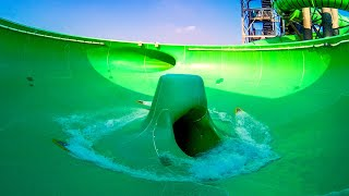 Aquacolors Poreč   Space Boat | Bowl Slide Trichterrutsche POV