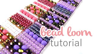 Beading On A Loom | Beginners Bead Weaving