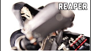 Figma 393 Overwatch Reaper Action Figure Review Good Smile Company MAX FACTORY