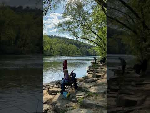 Video Of Dam Site- River Campground, AR