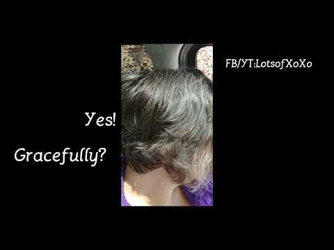 Review on Graying Hair: John Frieda Sheer Blonde Colour Renew Tone-Correcting