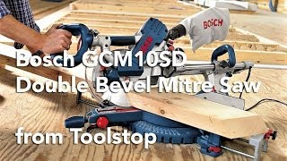 Bosch GCM10SD Bosch GCM10SD Double Bevel Slide Mitre Saw