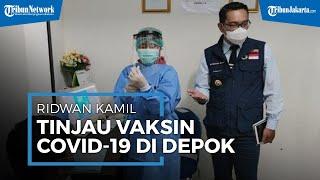 Tinjau Simulasi Pemberian Vaksin Covid-19, Kang Emil Sebut Depok Jadi Titik Awal di Indonesia