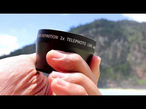 Review Tele Photo 2x Zoom Extension Lens Converter