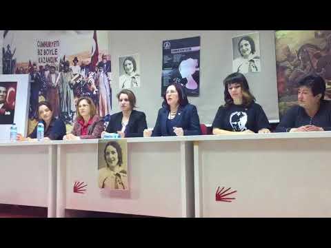 CHP'li kadınlardan kınama..
