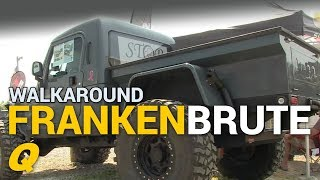 Frankenbrute - Custom Jeep Wrangler Truck Walkaround