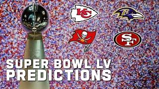Super Bowl LV Matchup Predictions