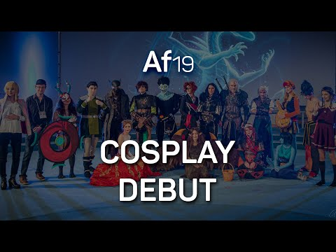 Cosplay debut