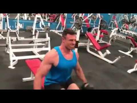 Shoulder workout video @blackwoodfitness