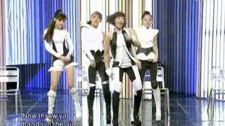 2NE1 - Pretty boy @ SBS Inkigayo 인기가요 090906
