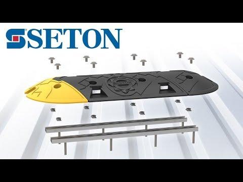Guide d'installation de votre ralentisseur Seton avec rail de fixation