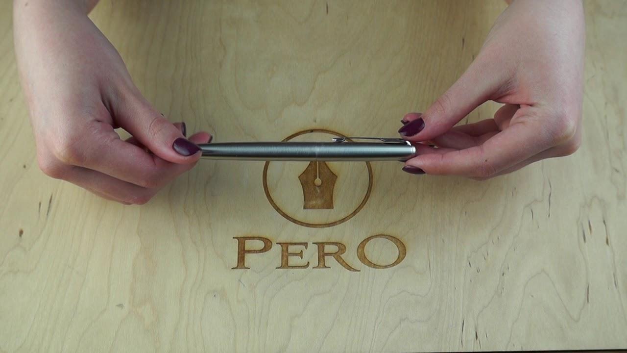 Перьевая ручка Parker JOTTER 17 SS CT FP M 16 112