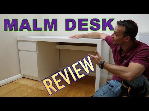 Ikea MALM Desk Review