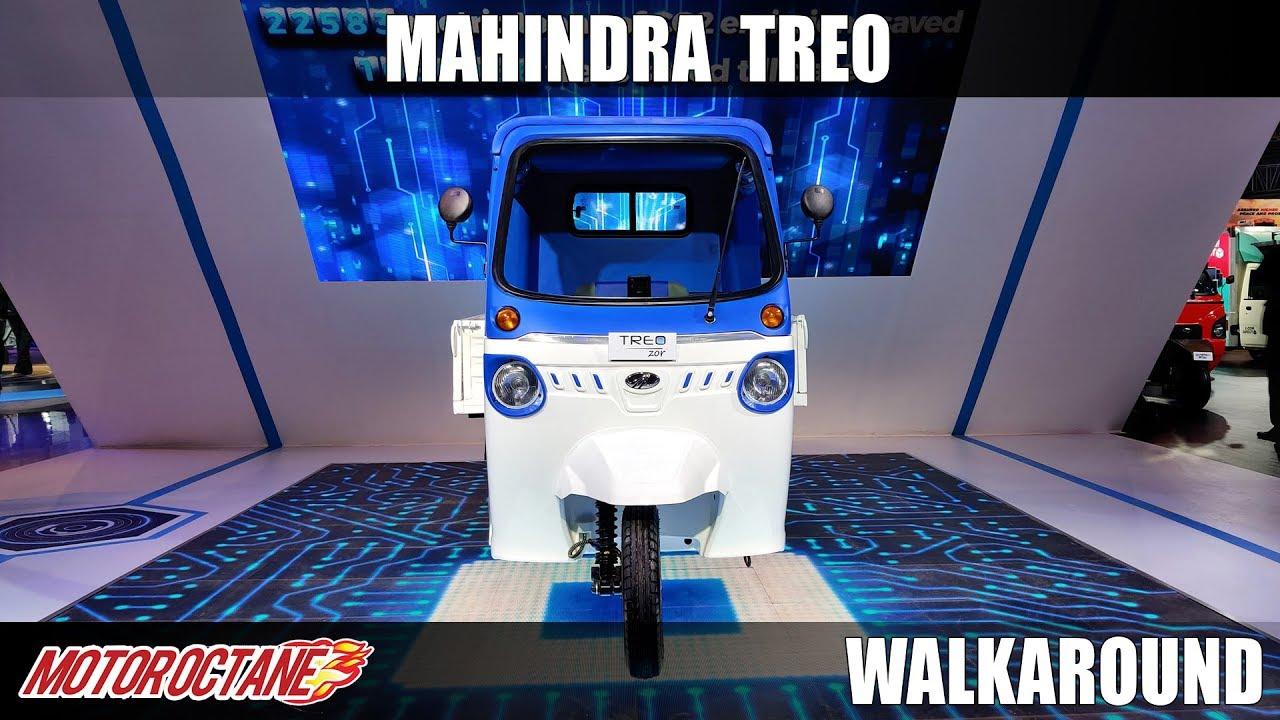 Motoroctane Youtube Video - Mahindra Treo - India ki agli rickshaw?   Auto Expo 2020   Hindi   Motoroctane