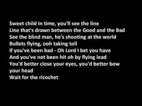 Deep Purple - Child In Time (lyrics on Screen)