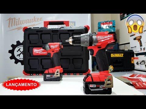 A Ferrari das Ferramentas - Parafusadeira a bateria 18v Milwaukee 2704 (Kit 2897 22 PO)